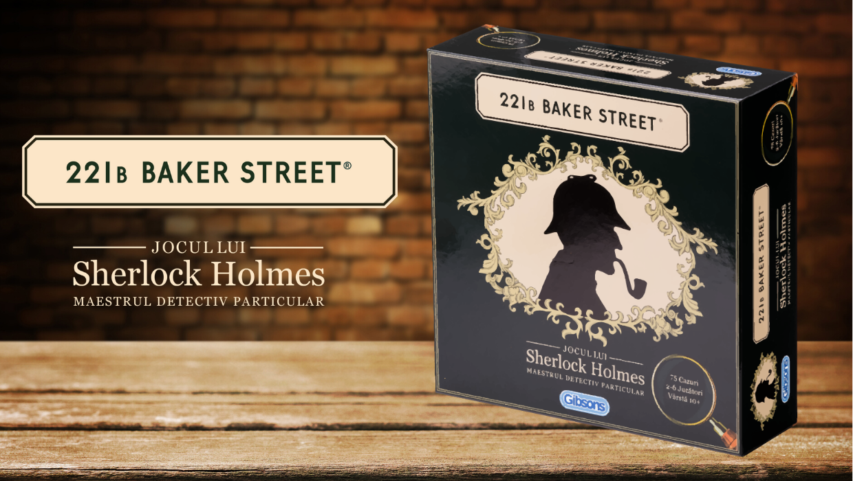 Cum se joaca 221B Baker Street - Sherlock Holmes