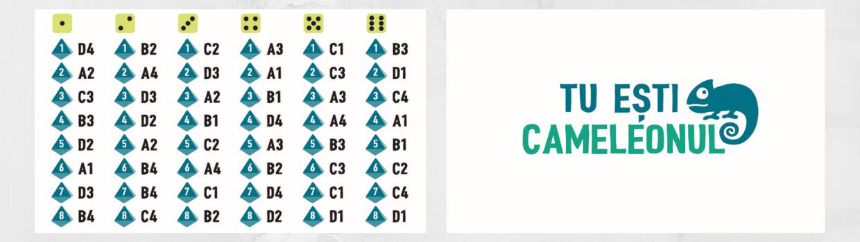 Cartonas Cod si Cartonas Cameleon